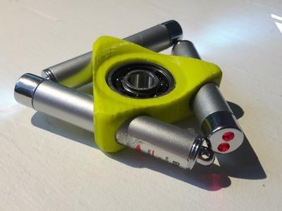 Laser Fidget Spinner 2.0 (3D printed)