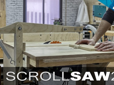 Make your own Scroll Saw (part2)
