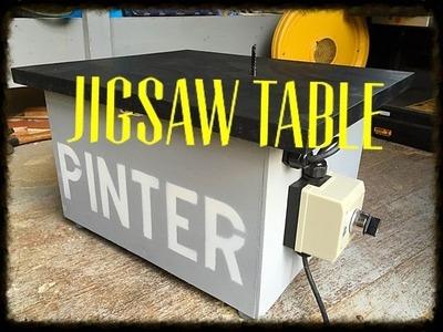 Making a Jigsaw table