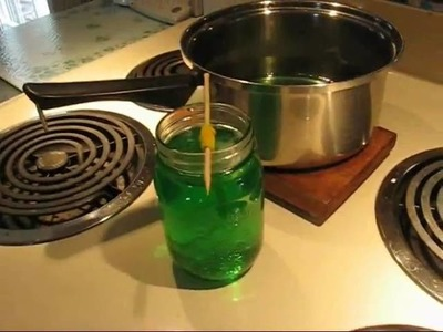 Making sugar crystals