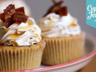 Maple & Bacon Cupcake Recipe | Cupcake Jemma