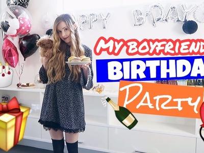 My Boyfriend's Birthday Party