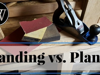 NEVER SAND AGAIN Which is Better Hand Sanding or Hand Plane