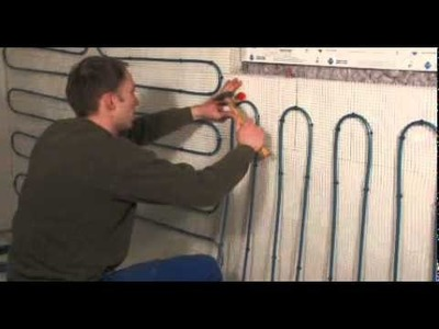 Panel heating system with mats for homes (wall heating) - perfect comfort