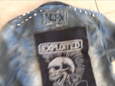 PUNK D.I.Y (Episode 4: Exploited Back Patch)