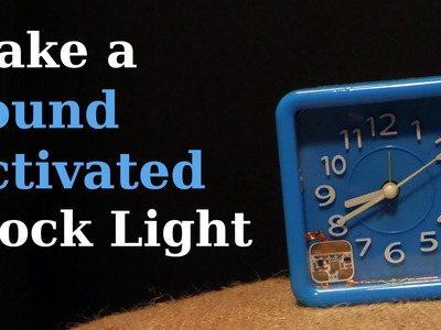See What's the Time at Night by Blowing on Your Clock!