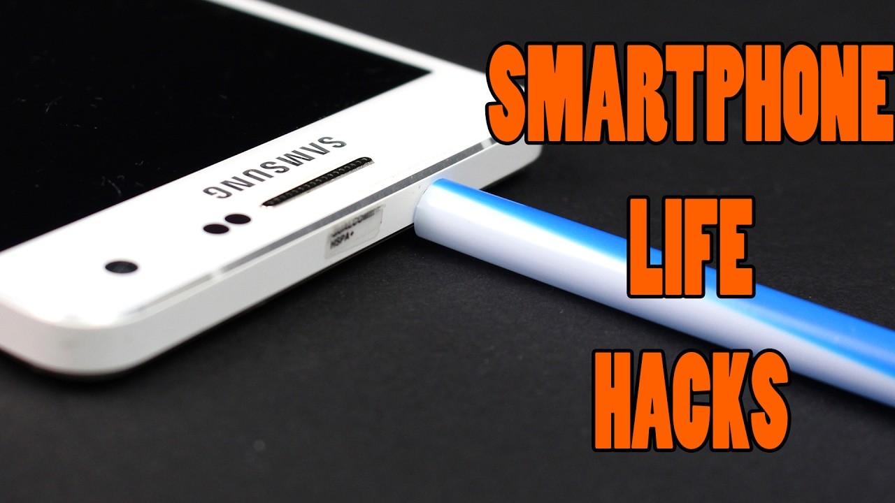 Top 10 best life hacks for smartphone