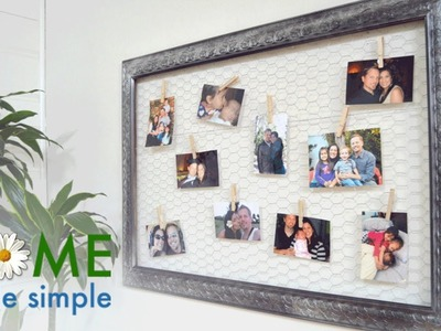 Try This Fun and Upscale Way to Display Photos | Home Made Simple | Oprah Winfrey Network