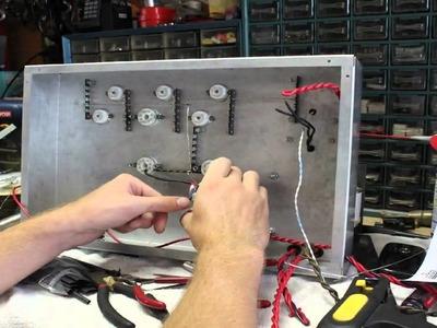 50 watt 6L6 guitar tube amp build - time lapse part 2