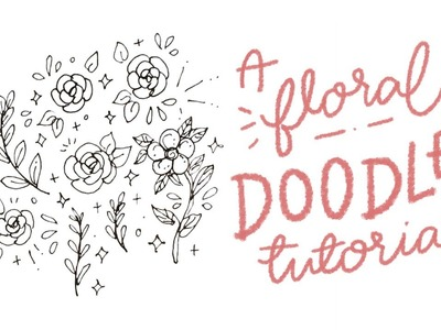 A floral doodle tutorial. cheyenne barton