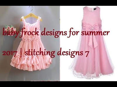 Baby frock designs for summer 2017   stitching designs 7