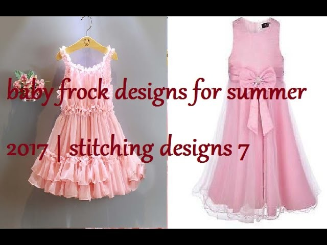 aaf3d5f1c673 Baby frock designs for summer 2017