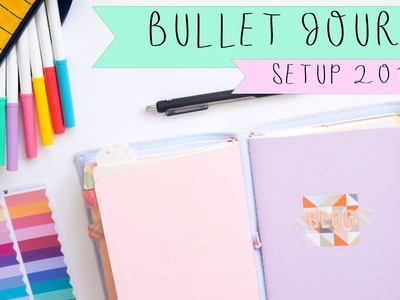 Bullet Journal | Traveler's Notebook Setup 2017 | How I Plan Bullet Journal in a Traveler's Notebook