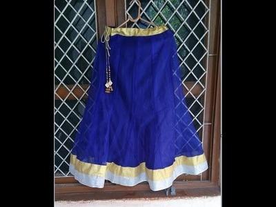 Designer Lehanga stitching