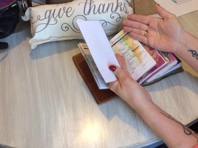 DIY dividers for your travelers notebook!