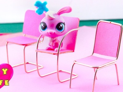 DIY Miniature Chairs for Littlest Pet Shop: How to make?