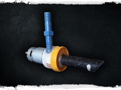 DIY Powerful Water Pump