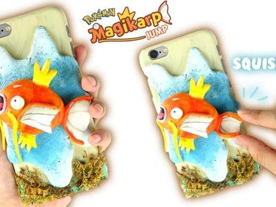 DIY SQUISHY Clay MAGIKARP Phone Case! [Pokémon]