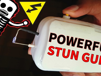Do Not Make this Taser at Home | Powerful & Cheap Stun Gun | 4K