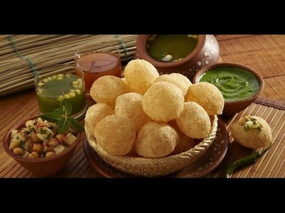 Easy to make pani puri at home With 1.2 Million + Views