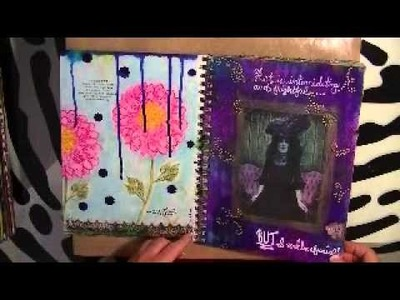 First Completed Art Journal