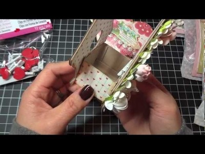 Heart Mini Album in Birdhouse box and another Valentine's Day Treat idea