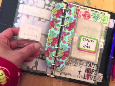 How I made my Filofax Personal into a wallet planner
