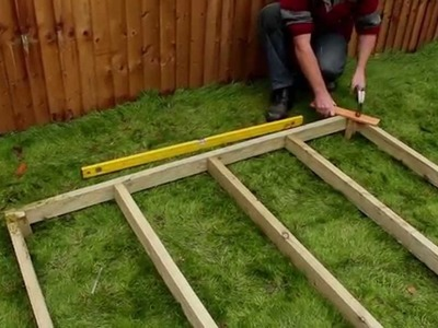 How To Assemble An Eze Shed Base