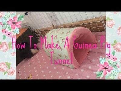 How to make a guinea pig tunnel | BasicallyPets