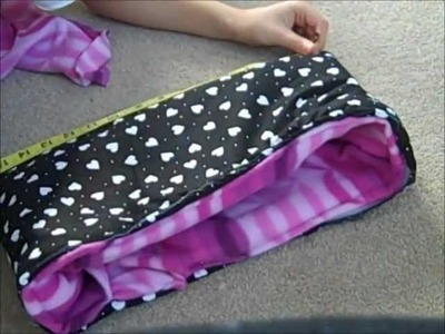How to make a snuggle sack
