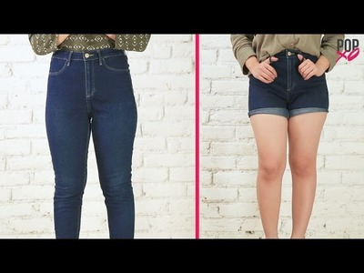 How To Make Denim Shorts Out Of Jeans - POPxo