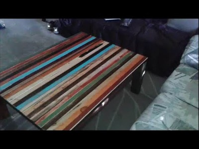 """How To Make Faux """"Reclaimed Lumber"""" Furniture by Mark Prior"""