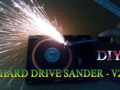 How To Make Hard Drive Sander - v2