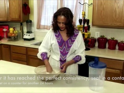 How to Make Injera with English Captions
