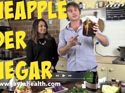 How To Make Pineapple Cider Vinegar