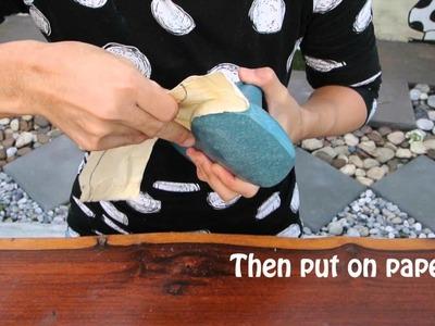 How to Make Shoes (Pt. 3) - สอนทำรองเท้า แบบง่ายๆ น่ารัก แบบ Ballerina