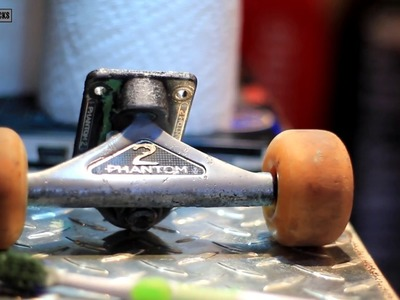 How To Make Your Skateboard Trucks Shine Like New!