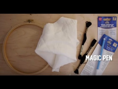 How To Start Your Embroidery Kit