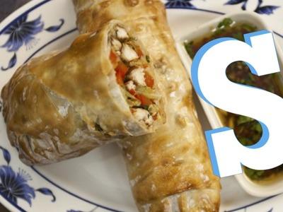 Jumbo Chicken Spring Rolls Recipe - SORTED