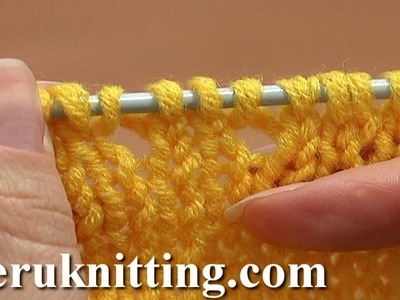 Knitting For Beginners Tutorial 8 Method 7 of  How to Knit Increase