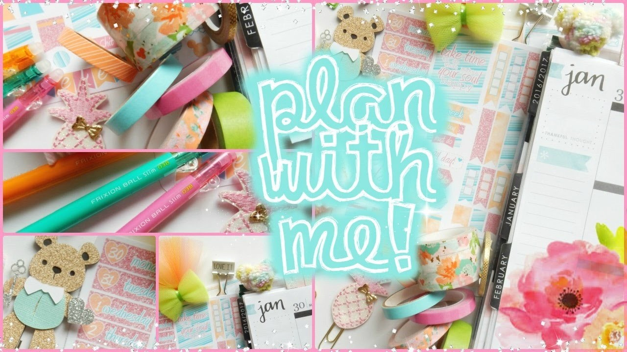"""""""Last Saturday of the month"""" Plan with Me! Jan. 30 - Feb. 5 in my Erin Condren Life Planner 