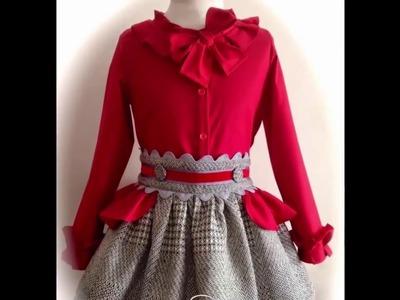 Latest Red Baby Dress Designs For Summer|  Summer Kid Dress|  Stitching Designs