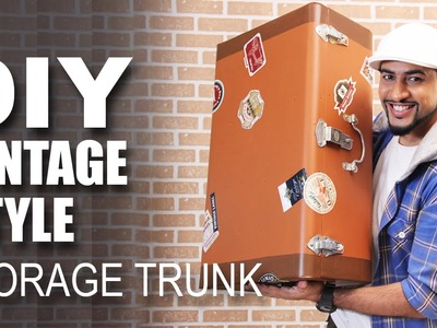 Mad Stuff With Rob - How To Make A Vintage Style Storage Trunk | DIY Craft