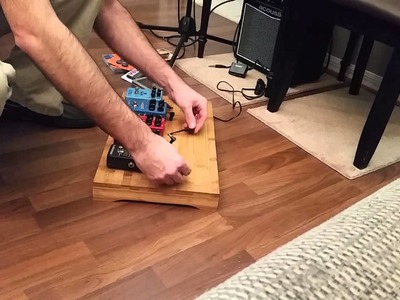 Making a Homemade Budget Pedal Board For Under $40.