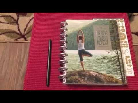 MAMBI Fitness Planner unboxing and first thoughts