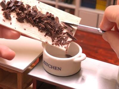 MiniFood chocolate 食べれるミニチュア生チョコ