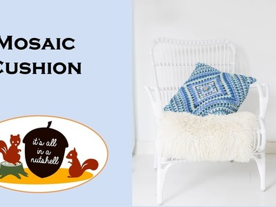Mosaic Cushion - Free Crochet Pattern