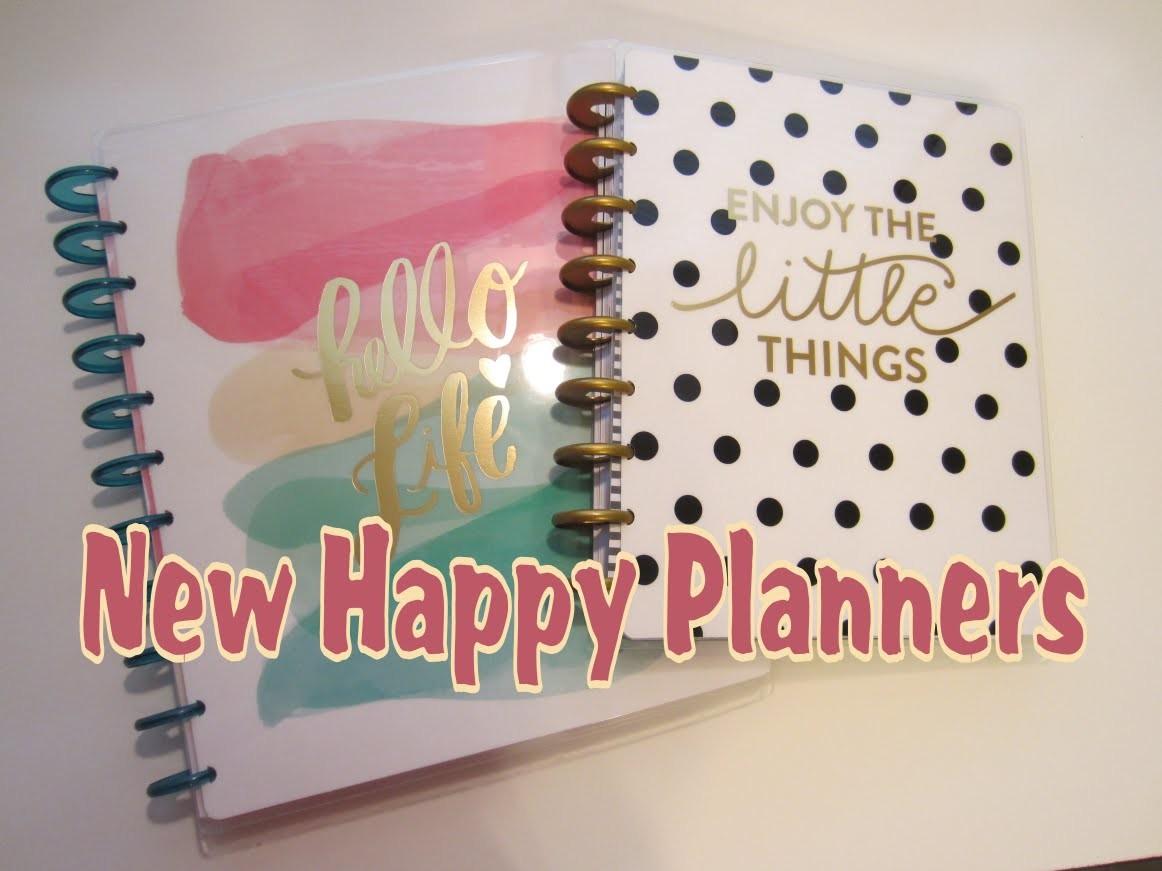 New Happy Planner Walkthrough (Big & Classic Size)