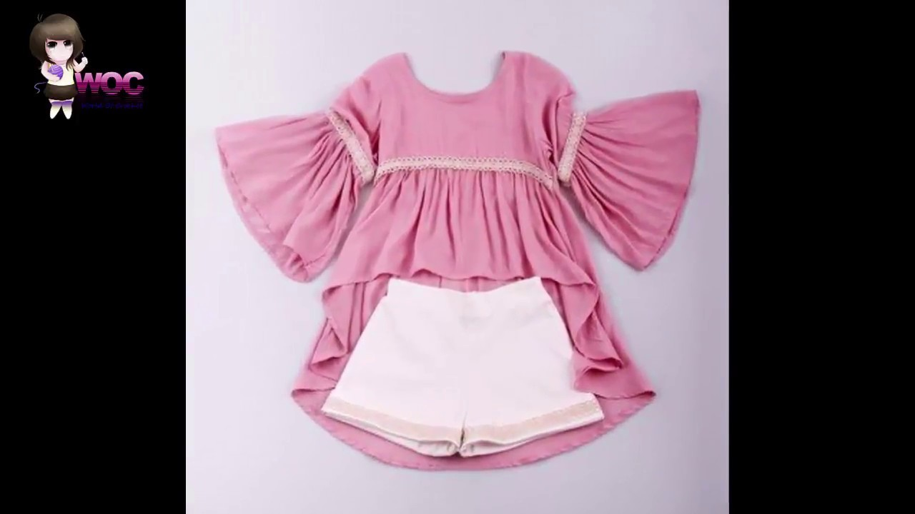 fcfd8d46bdca New Stylish and Beautiful baby ruffle dress designs For baby Girls ...