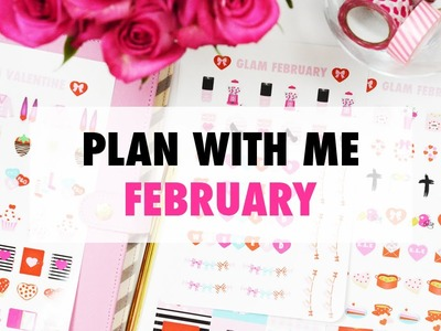 Paper & Glam - Plan With Me February & Subscription Launch!